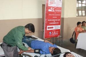 Blood Donation Camp (8 Nov 2013)