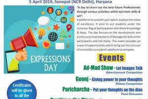 Expressions 2019 (5 Apr 2019)