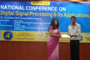 National Conference (DSA-2010) 23 Oct 2010